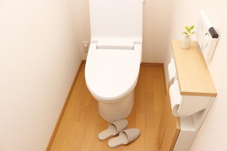 トイレに注意
